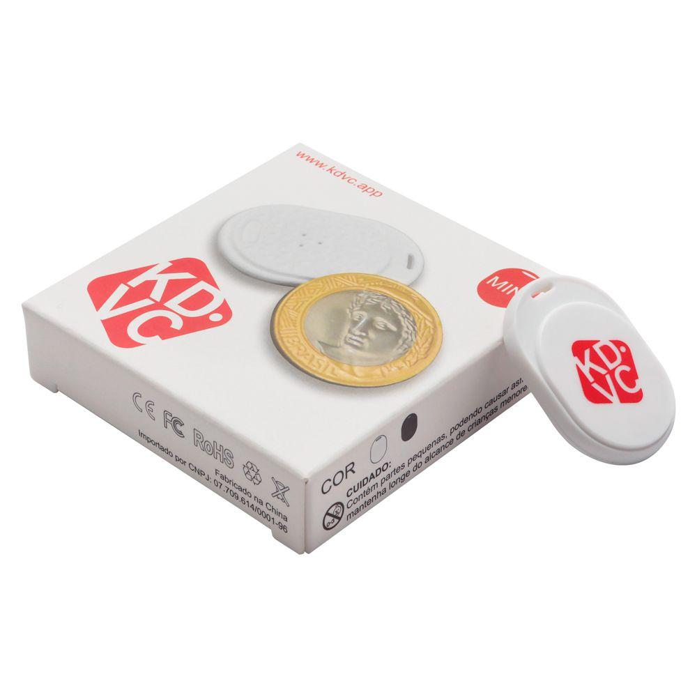 Kit com 4 Localizador Bluetooth KDVC Mini Para Celular Carteira Chaveiro ou PET