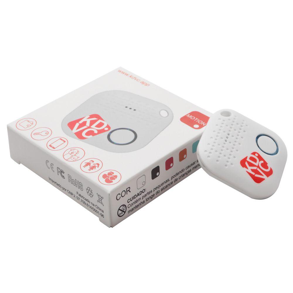 Kit com 4 Motion Localizador Bluetooth KDVC Para Celular Carteira Chaveiro ou PET