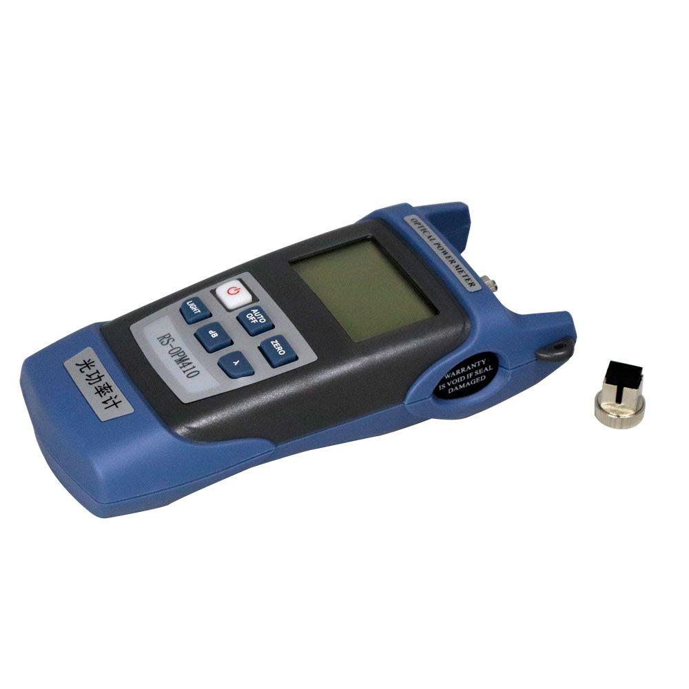 Kit FTTH Clivador, Power Meter, VFL, Decapador Acrilato, Decapador Drop, Gabarito e Bolsa