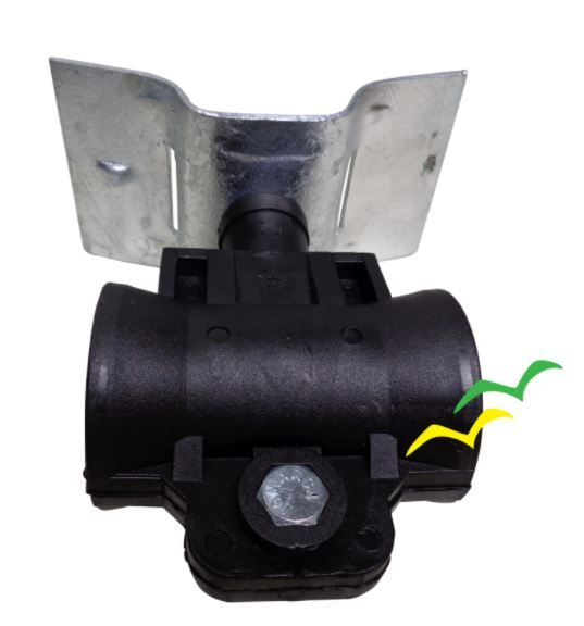 Kit Suspensão - Suporte P/ Bap + M12 + Dieletrico Conico Gvt
