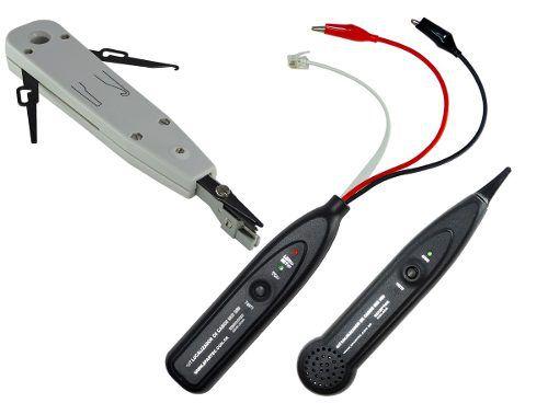 Kit Telefonia 2 Peças - Punch Down 314kr + Zumbidor Spartec