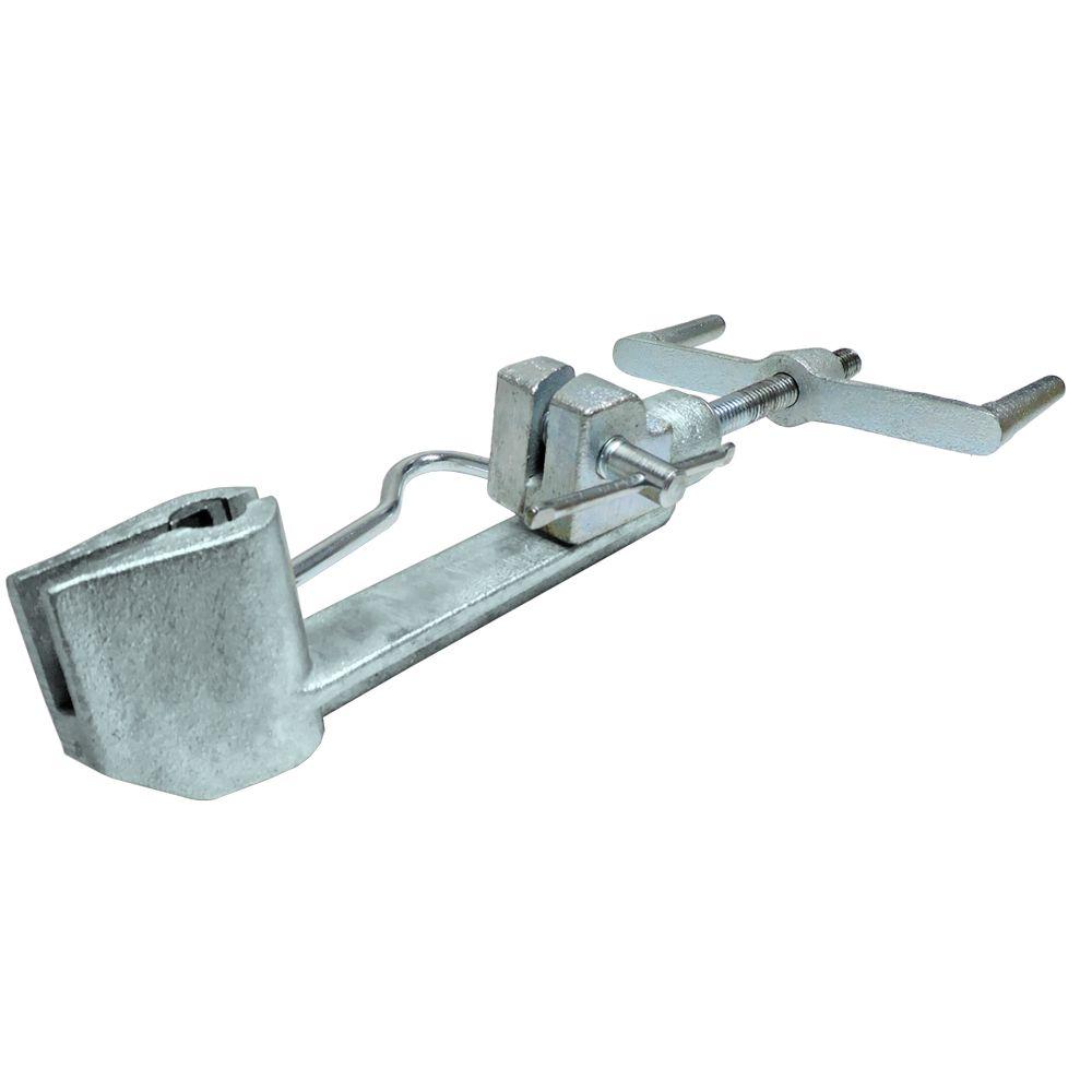 Máquina de Cintar Poste galvanizada para fita de aço Inox cintadeira Fusimec
