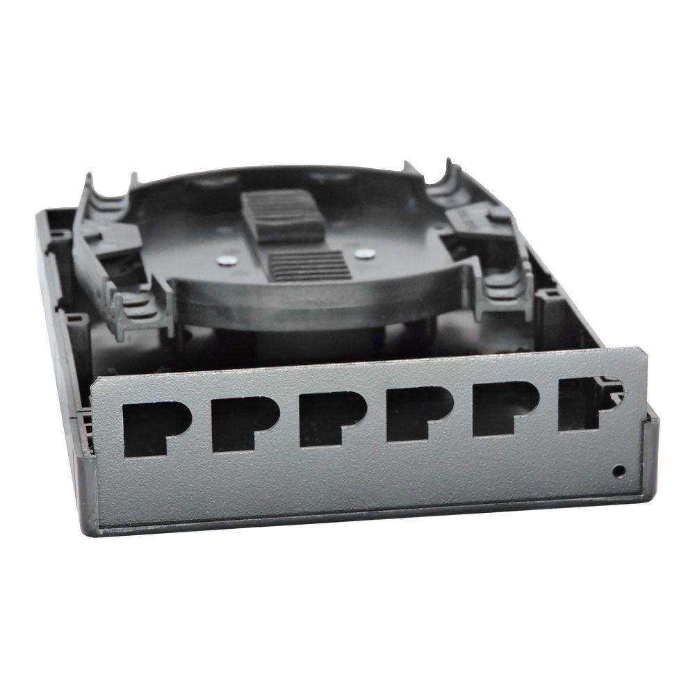 Mini Dio Em Plástico Universal P/ 6f Sc Ou Até 12f Lc Duplex