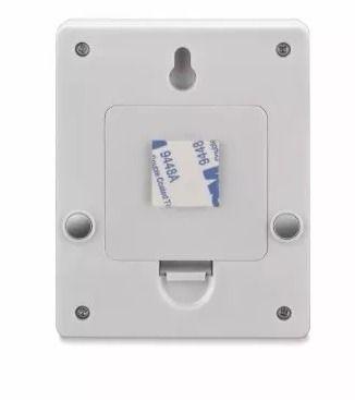 Mini Luminária Led Portátil de Botão Funciona Pilha Elgin 3w