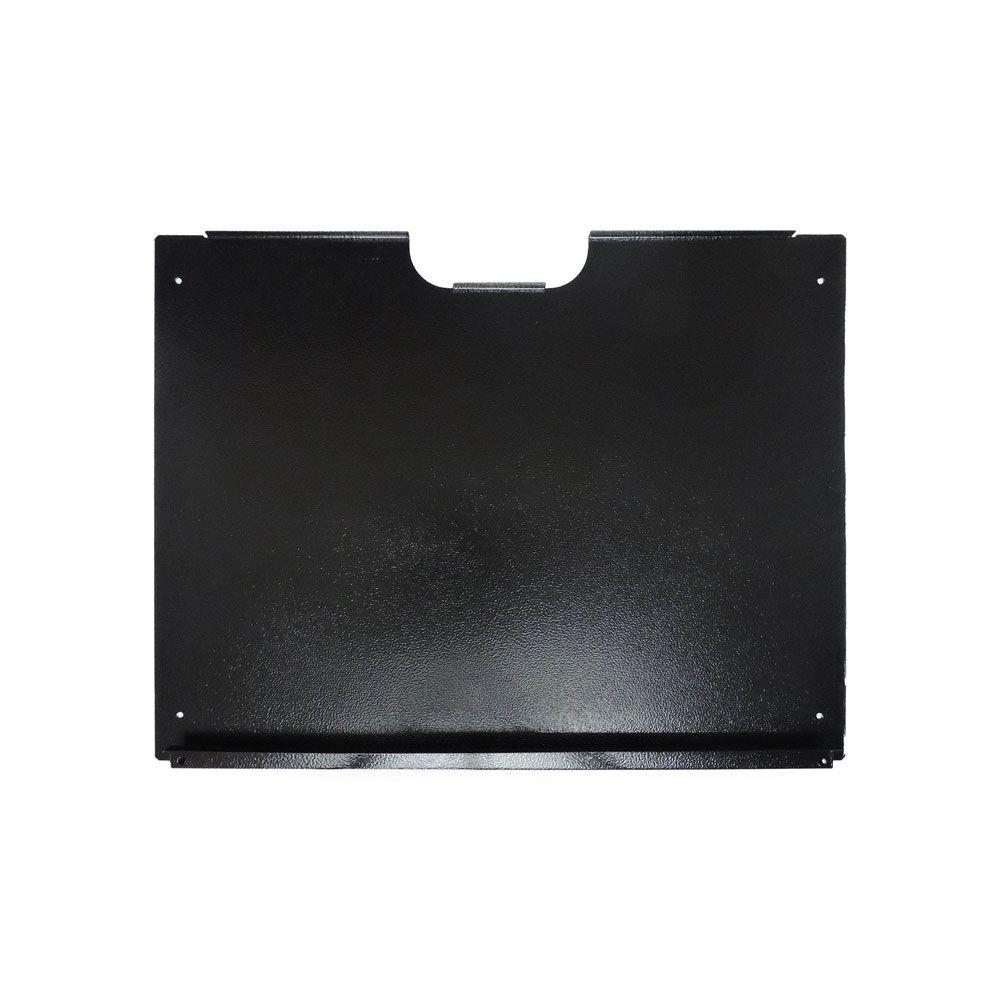 Mini Rack de Parede 08UX400mm desmontável C/FUNDO Preto - G