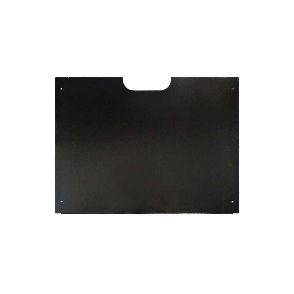 Mini Rack de Parede 12Ux400mm desmontável S/ FUNDO Preto - G