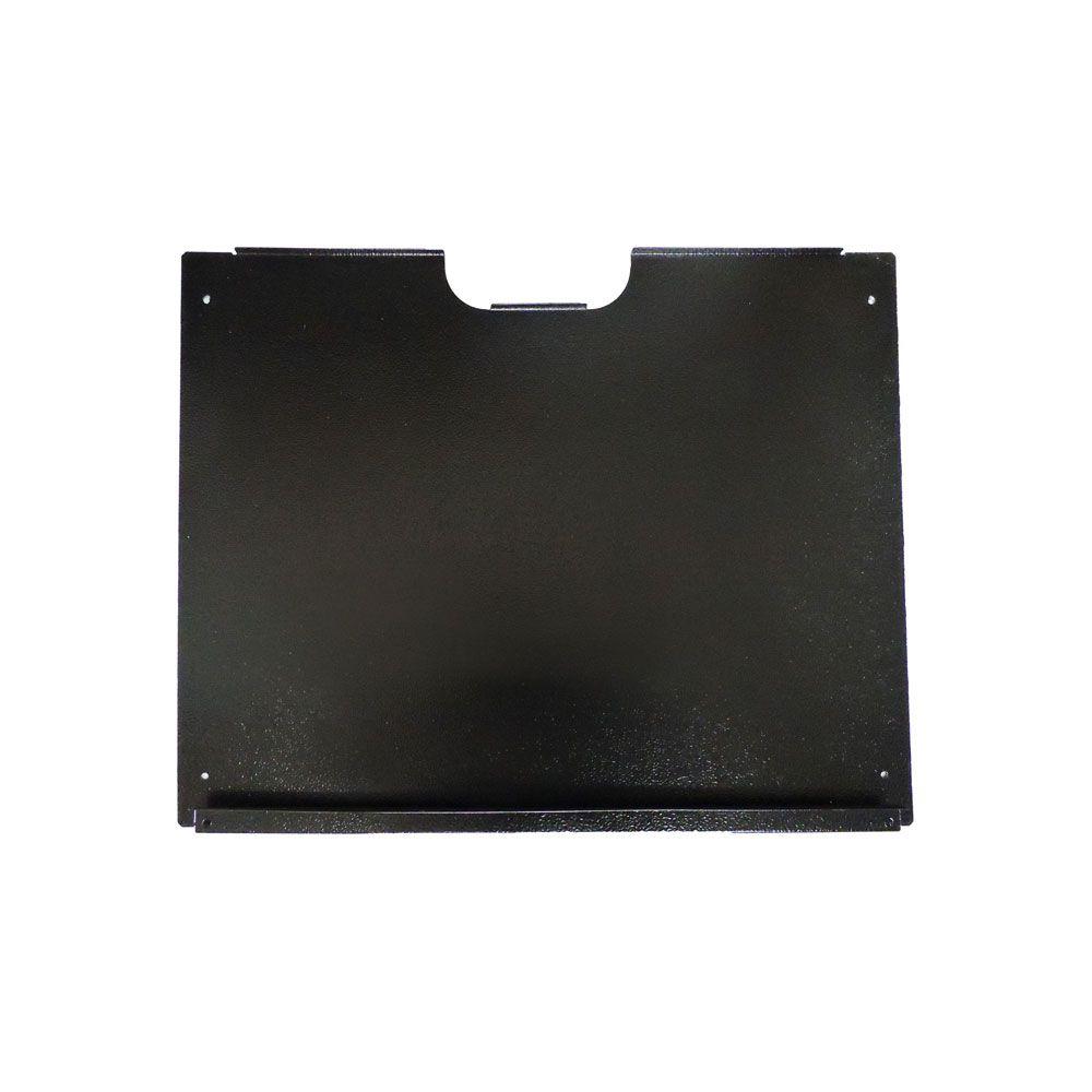 Mini Rack de Parede 3U x 400 mm desmontável C/ FUNDO Preto - G