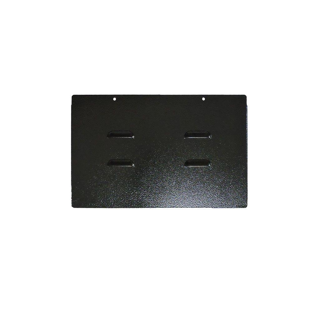 Mini Rack de Parede 3U x 400 mm desmontável S/ FUNDO Preto - G