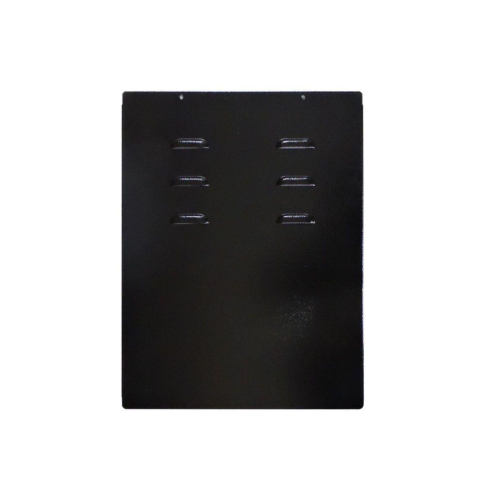 Mini Rack de Parede 8Ux400mm desmontável S/ FUNDO Preto - G