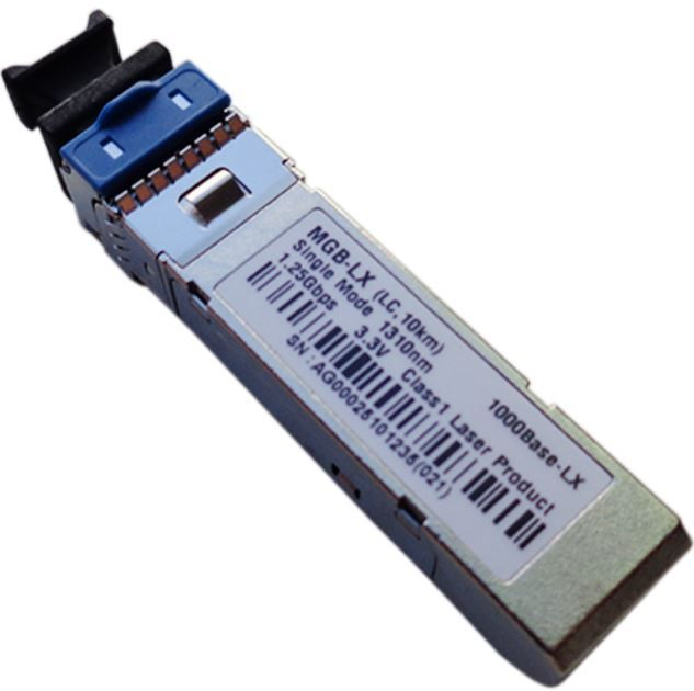 Módulo Mini Gbic Monomodo MGB LX SM 1000BLX MGBIC 10Km