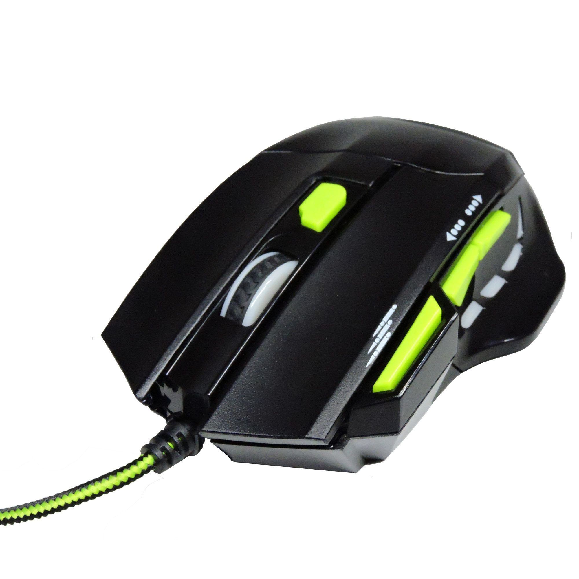 Mouse Gamer Fire Button Fio Nylon 2400 Dpi Multilaser