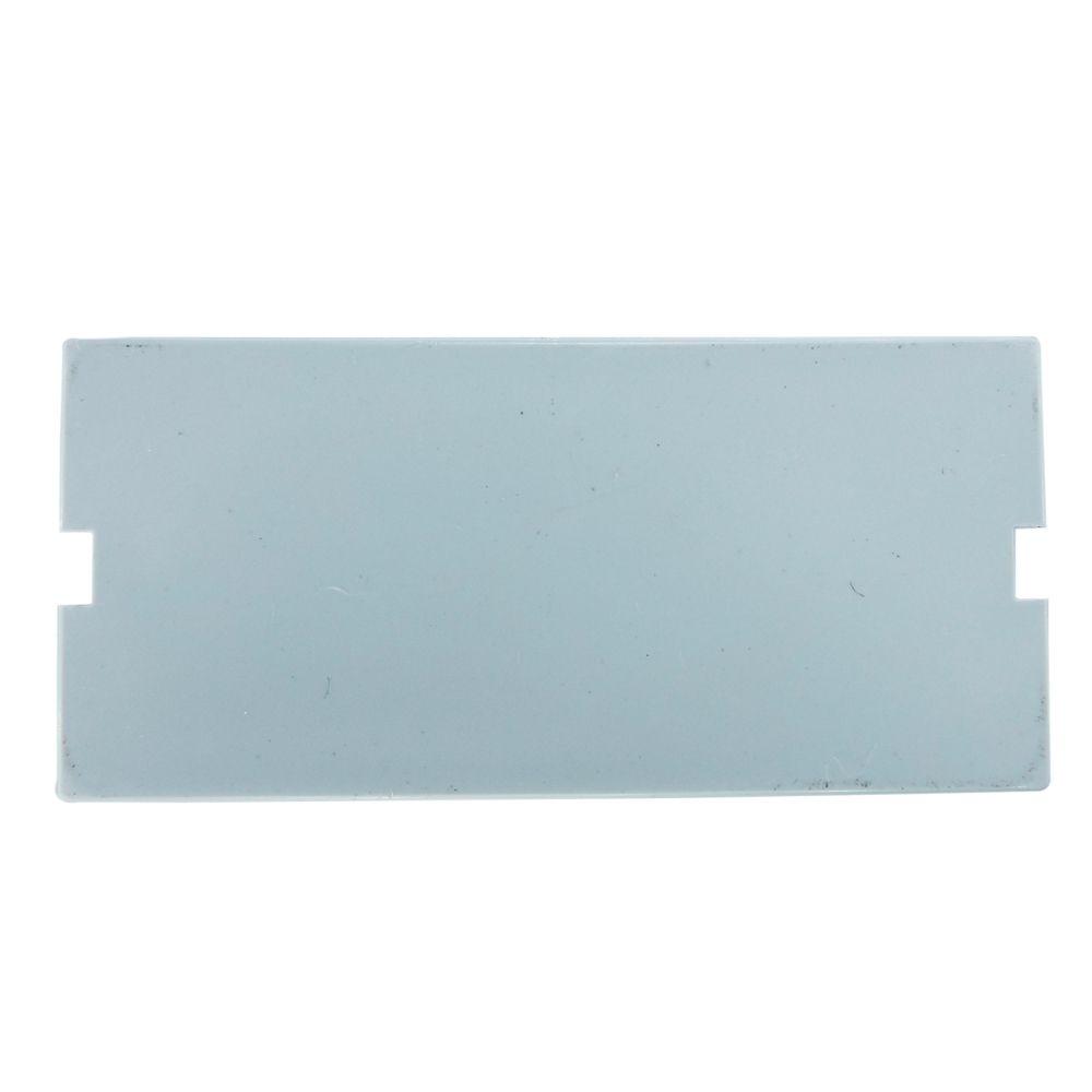 Pacote c/ 20 Pçs de Espelho 4x2 (12 cm x 7,5 cm) 02 Saídas RJ Modulo Removível Branco