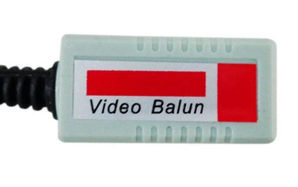 Par de Balun CFTV Plug BNC - SEC