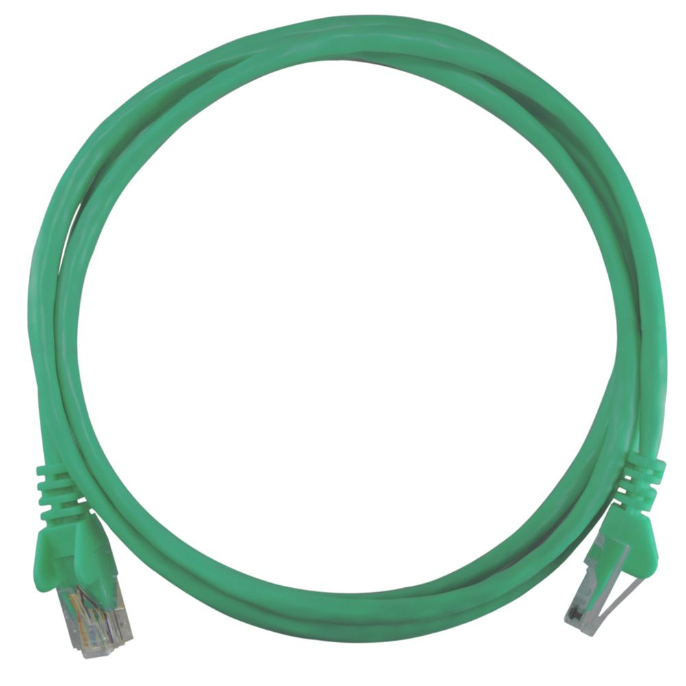 Patch Cord RJ45 Cat5e 1,5m Verde - Pier