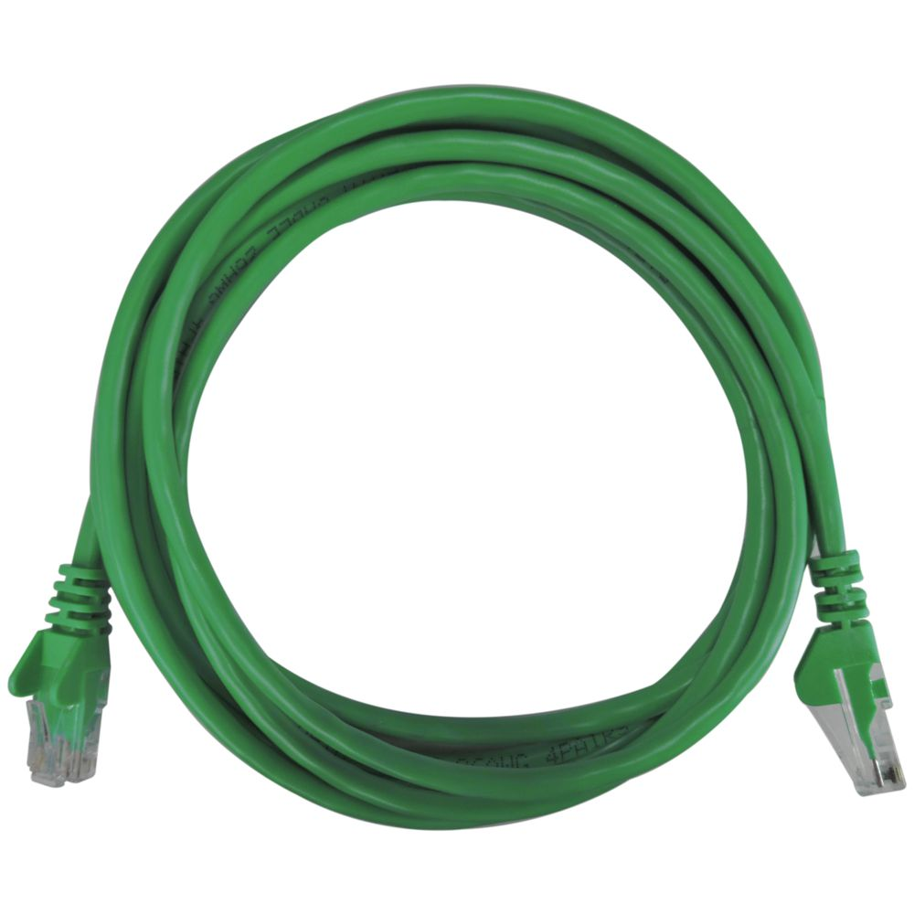 Patch Cord RJ45 Cat5e 2,5m Verde - Pier