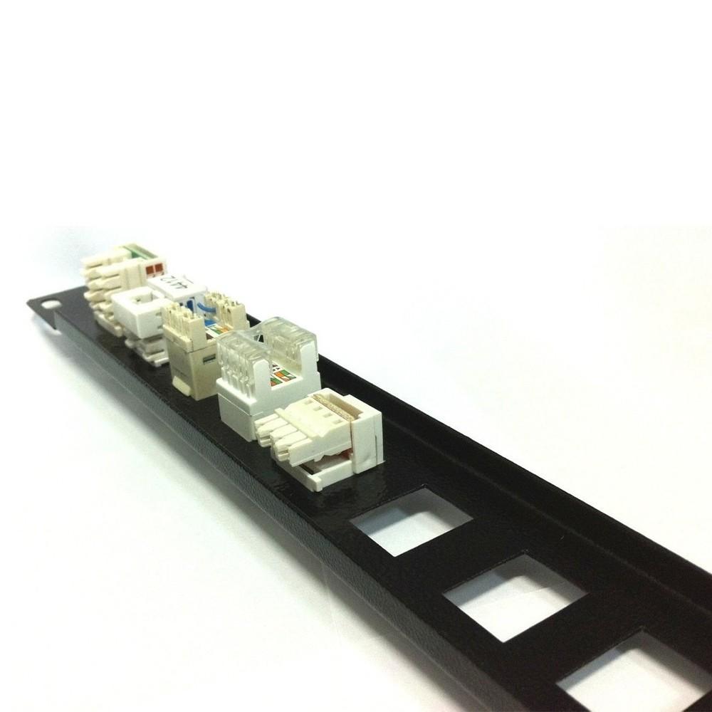 Patch Panel Descarregado 16 Portas RJ - sem Suporte