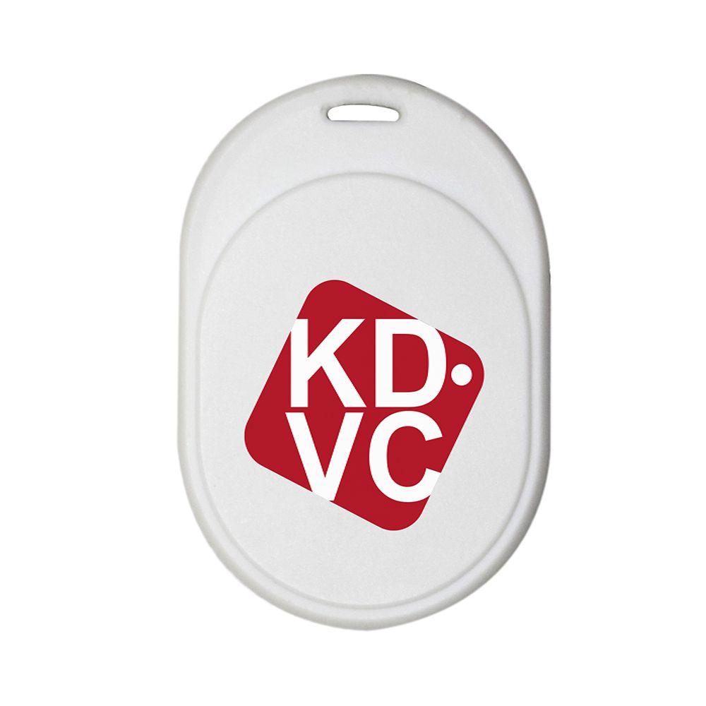 Localizador Bluetooth para celular carteira chaveiro ou Pet KDVC Mini - Branco