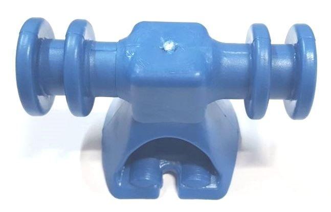 SIP4 Suporte Isolador plástico para BAP 4 canais - Azul
