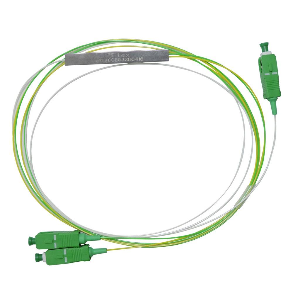 SPLITTER PLC 1x2 SM CONECTORIZADO SC-APC