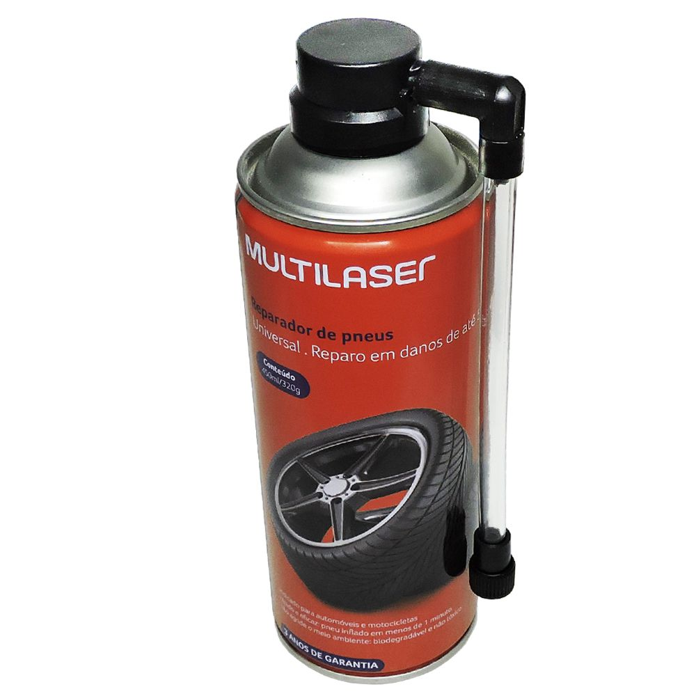 Spray Reparador de Pneu Multilaser