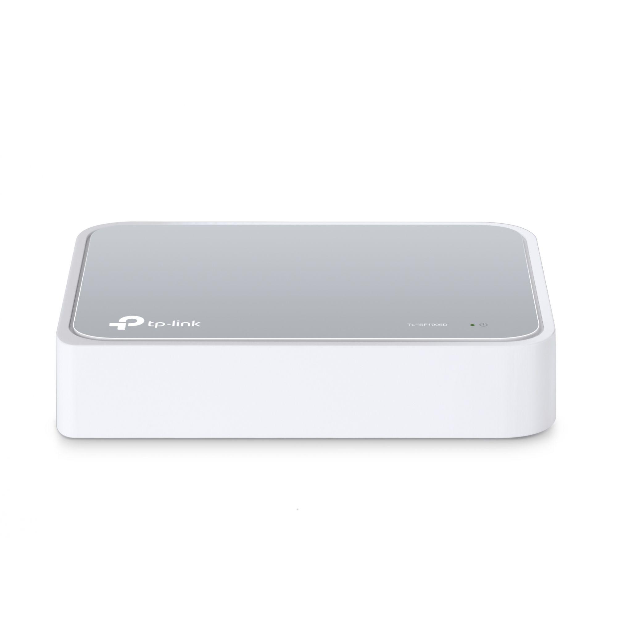 Switch de Mesa de 5 PORTAS 10/100MBPS - TL-SF1005D - TP-LINK