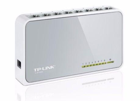 Switch de mesa de 8 Portas 10/100MBPS - TL-SF1008D - TP-LINK