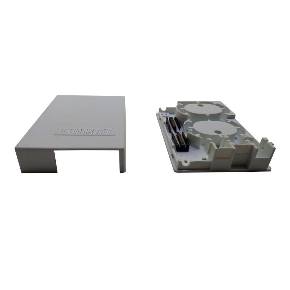 2 unidades de Terminador Óptico Fttx P/ Fusão Fibra Óptica Ftth