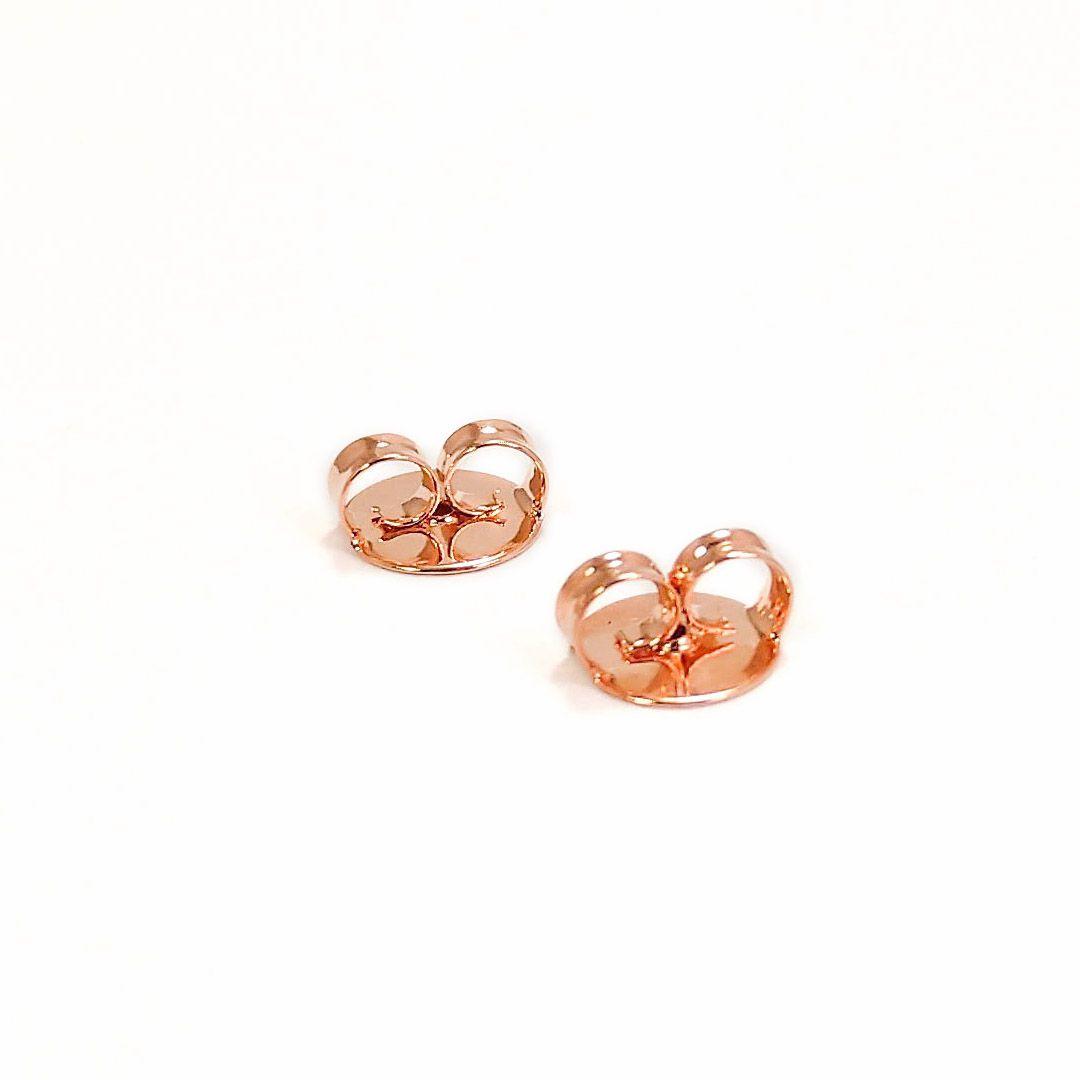 Brinco Argola com Formas de Zircônia banho Rose Gold