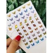 Adesivo borboleta