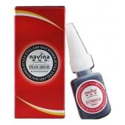 Cola Para Alongamento De Cílios Navina Macromolecular - embalagem vermelha