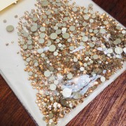 Cristal similar ao swarovski MIX 1400 pecas (pedraria)