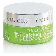 CUCCIO Gel para unhas T3 Led Uv Calcium Self Levelling 28g