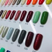 Esmalte em gel DeZ coleção A 40 opções em cores