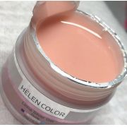 Gel Helen Color builder tampa prata NUDE 20g