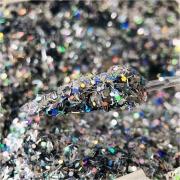 Glitter coleção SHINE (cor 1001) FILETE + 0.40 HOLOGRÁFICO