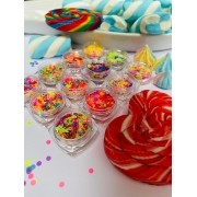 kit 12 glitter suspiro candy