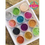 Kit caixinha 12 glitter ultrafino (JeX)