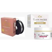 KV17 Kit volia par perfeito 01 gel pink hard + 01 fibra volia cosmeticos vòlia