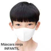 Mascara ninja INFANTIL em neoprene