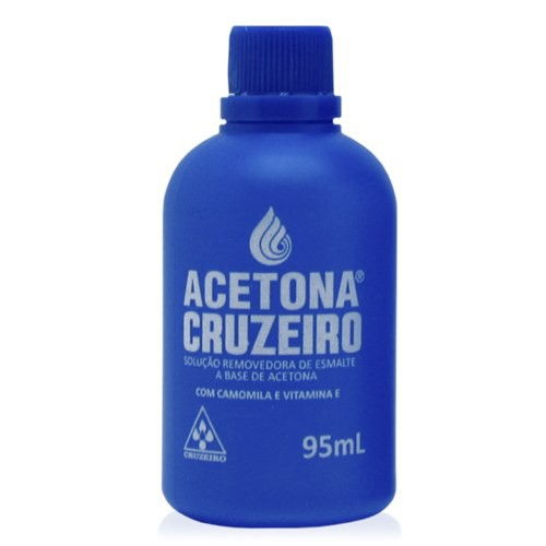 Acetona CRUZEIRO 95ml  - Sílvia Pedrarias & Cia