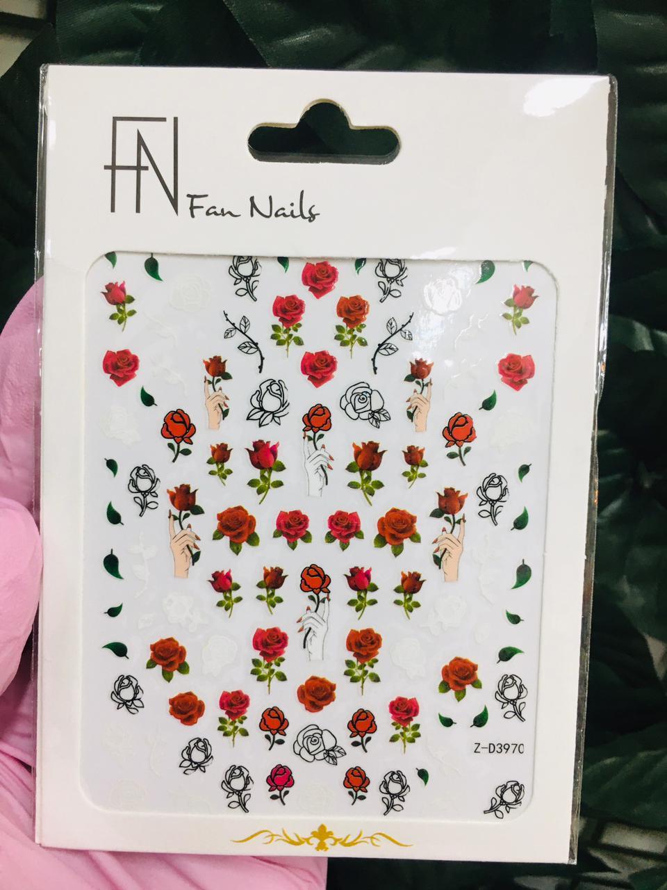 Adesivo para unhas Fan Nails - Modelos diversos  - Sílvia Pedrarias & Cia