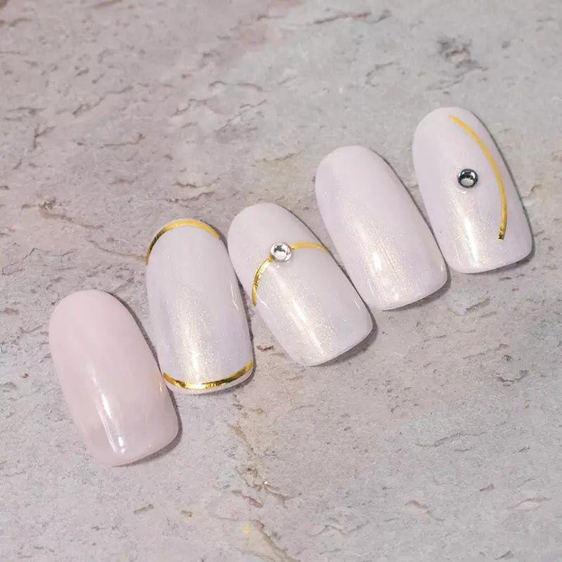 Adesivo para unhas modelo fitinha arqueado  - Sílvia Pedrarias & Cia