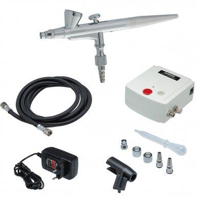 Aerógrafo Com Mini Compressor Vonder Bivolt Para Micropinturas e Retoques  - Sílvia Pedrarias & Cia
