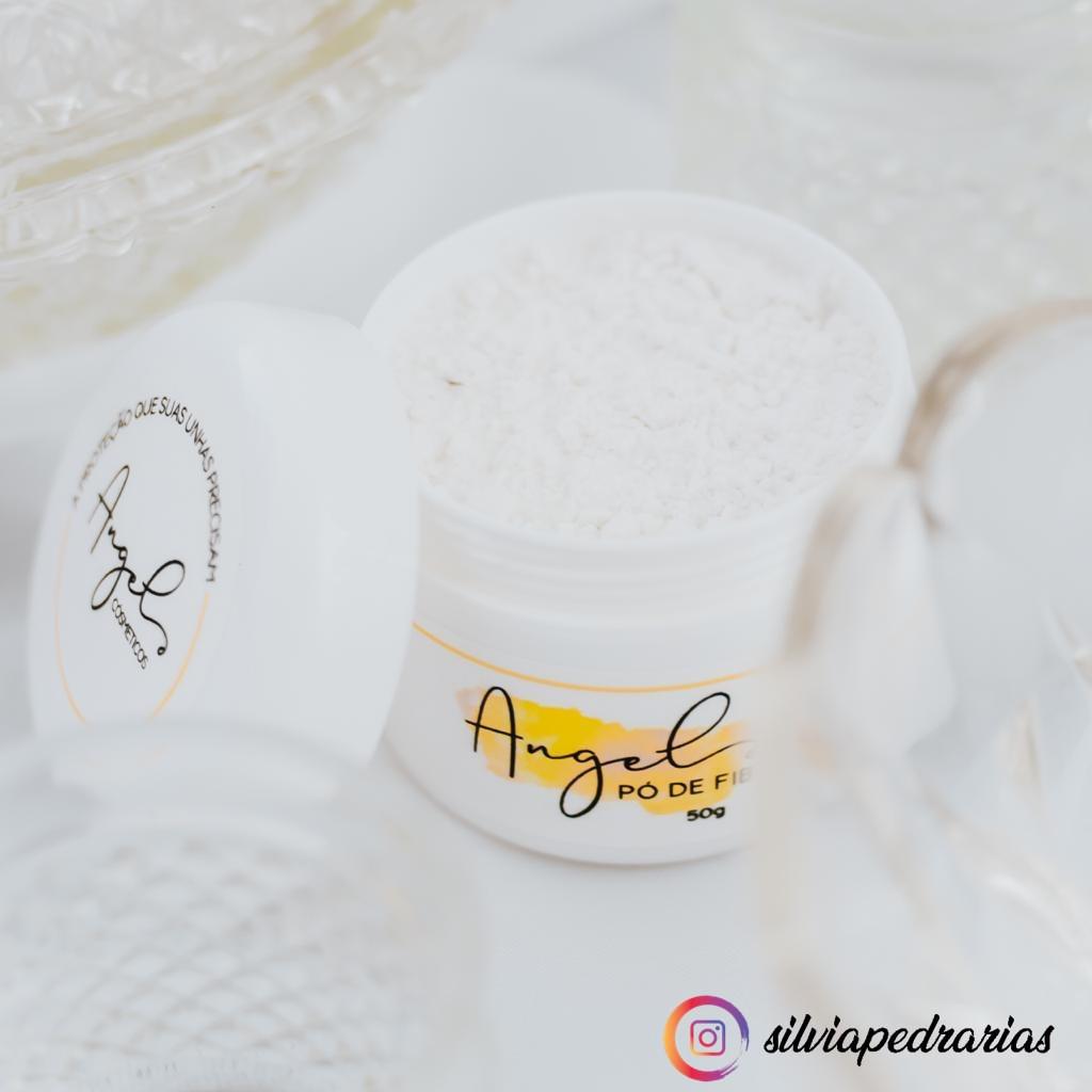 ANGEL po de fibra com 50g  - Sílvia Pedrarias & Cia