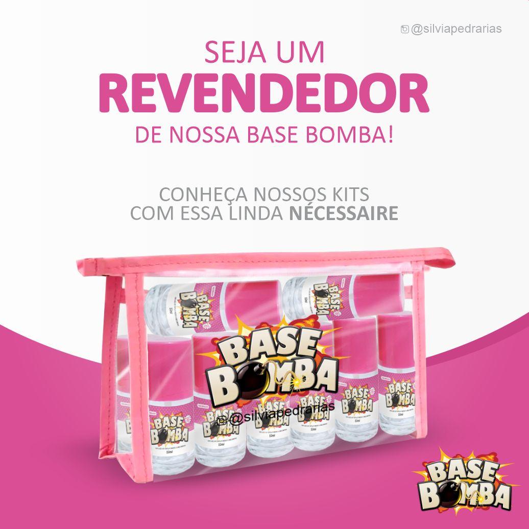 BASE BOMBA COM FORMOL  - Sílvia Pedrarias & Cia