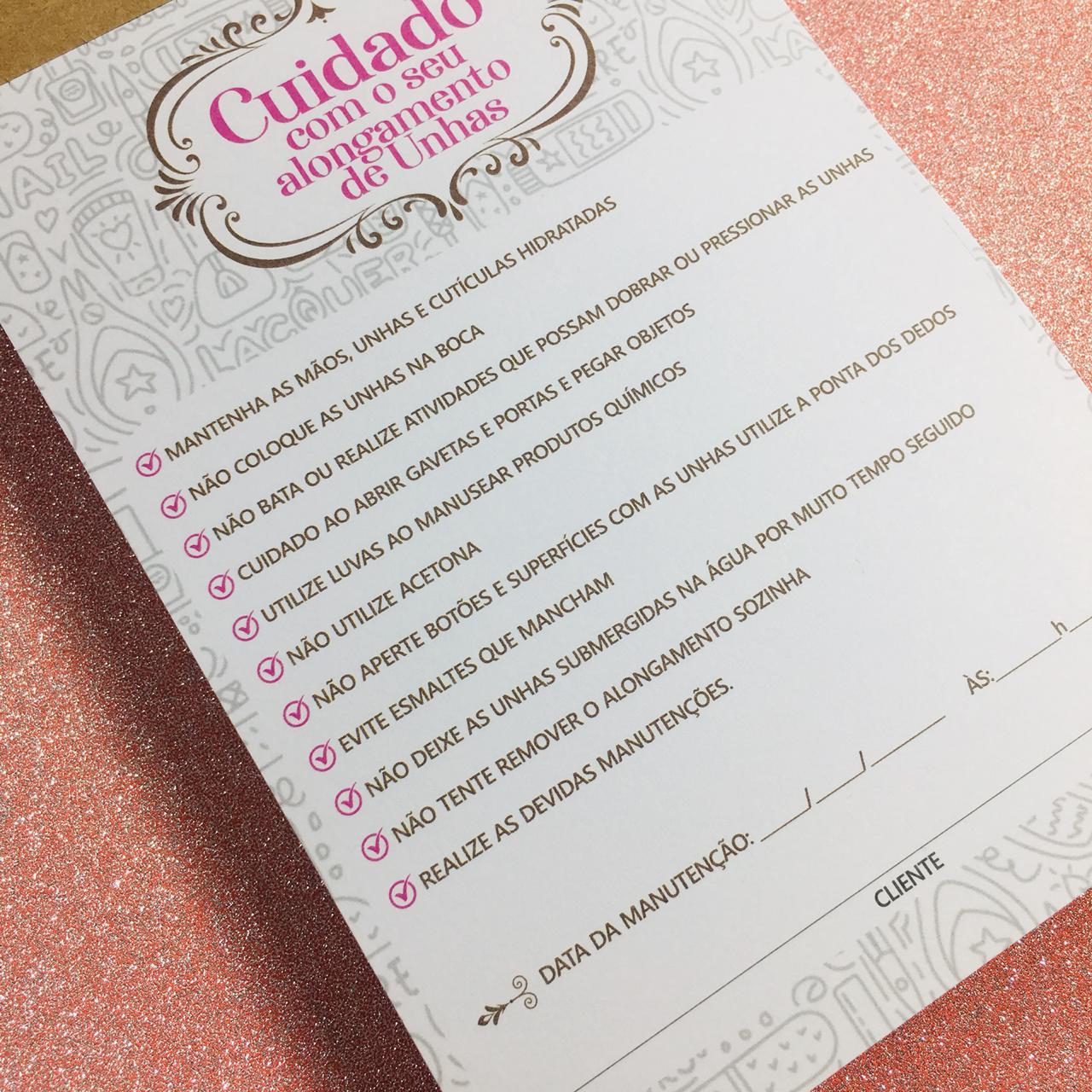 BLOCO CUIDADO COM ALONGAMENTOS COM 100 FOLHAS  - Sílvia Pedrarias & Cia