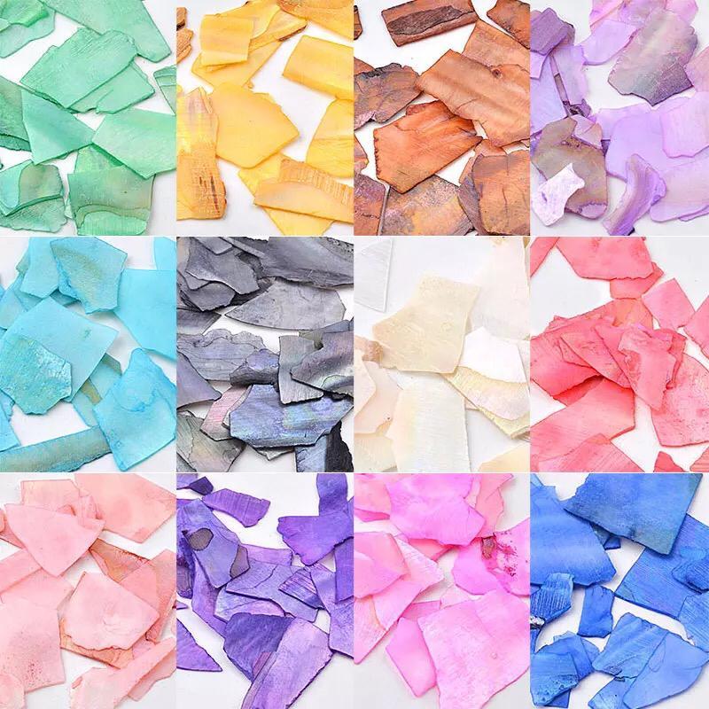 Caixinha 12 cores madre pérola grande   - Sílvia Pedrarias & Cia