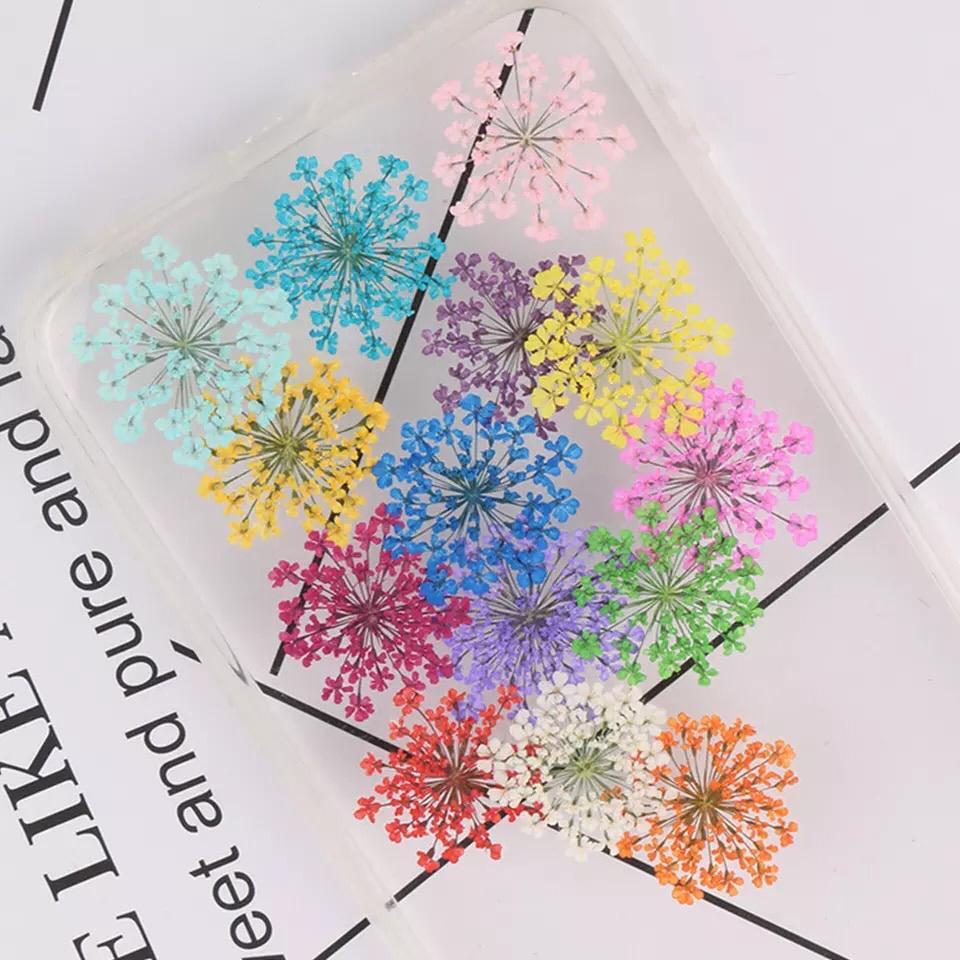 Caixinha flor seca para encapsulamento   - Sílvia Pedrarias & Cia