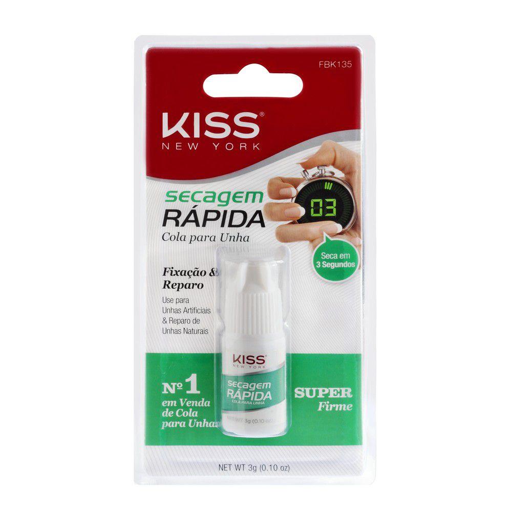 Cola maximum speed super firme First Kiss 3g  - Sílvia Pedrarias & Cia