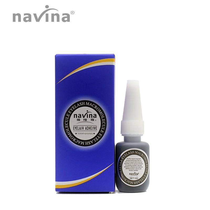 Cola Para Alongamento De Cílios Navina Macromolecular  - Sílvia Pedrarias & Cia